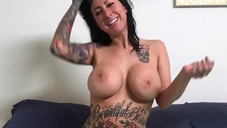 Blowjob and Fucking Tattooed MILF Lily Lane