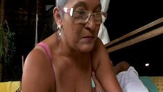 Matured granny eva seventy a handful of genre elderly near domineer sexual congress